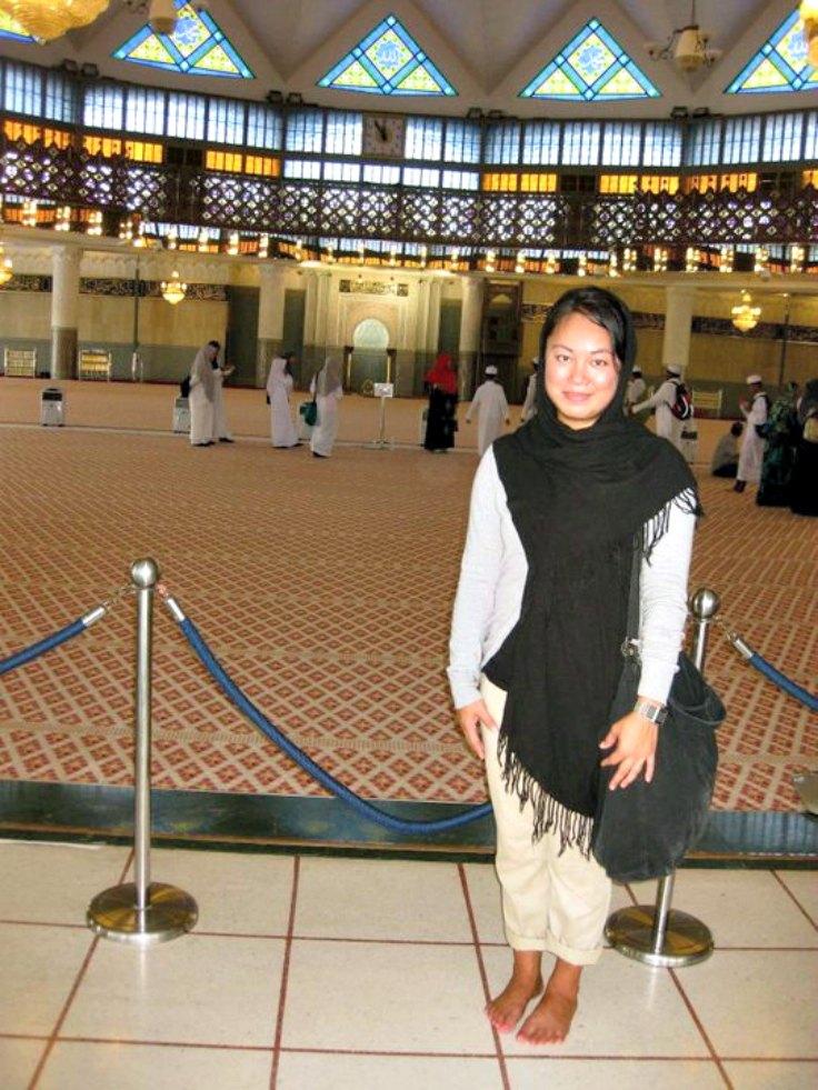 Visiting Masjid Negara | rtwgirl