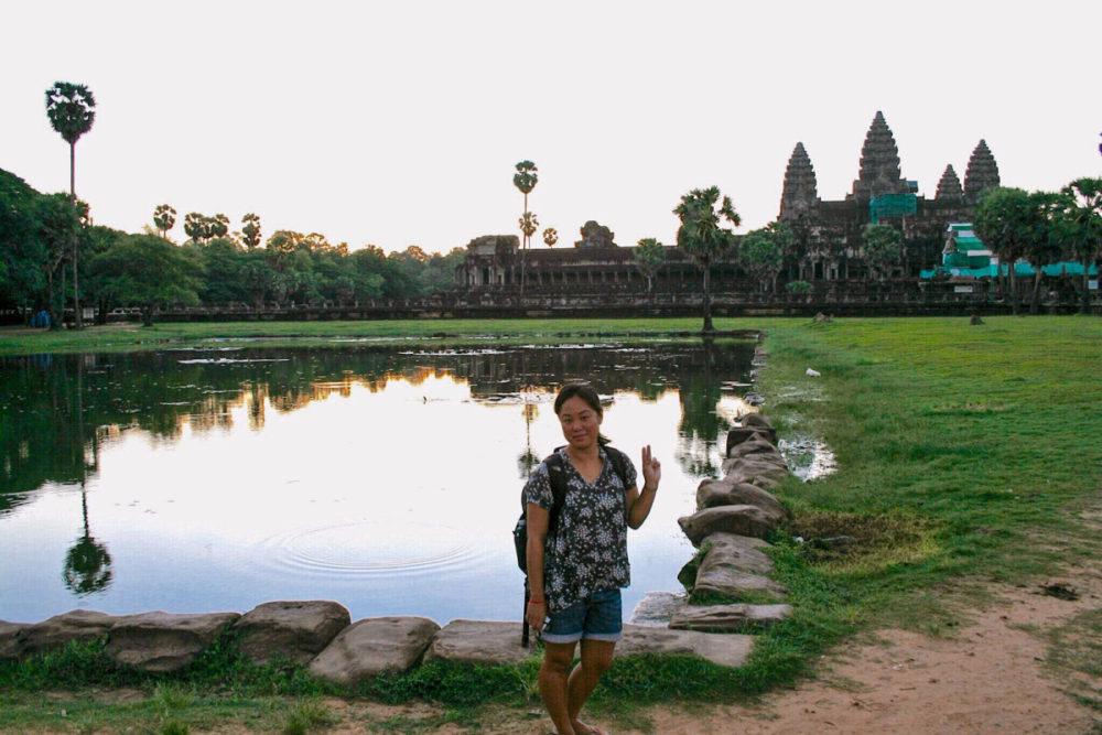 Angkor Wat - Cambodia | www.rtwgirl.com