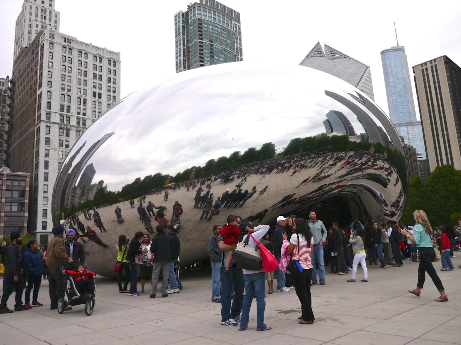 Cloud Gate - Chicago   www.rtwgirl.com