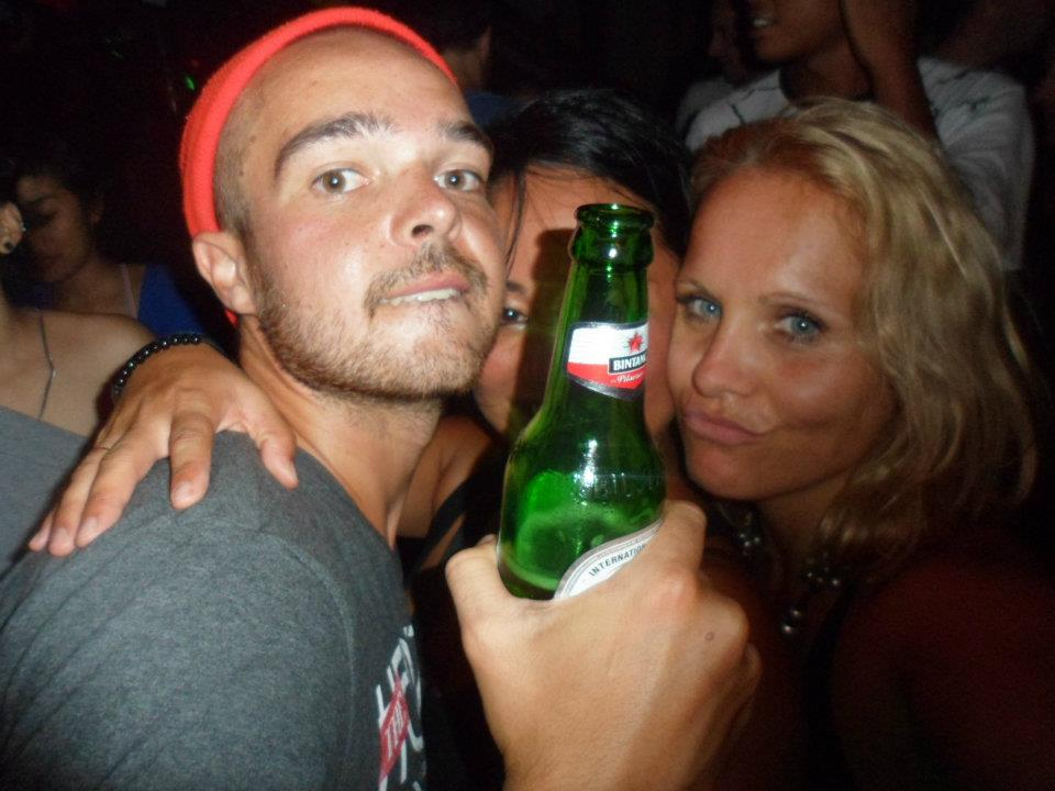 Travel Outtakes - With Bintang Beer | www.rtwgirl.com