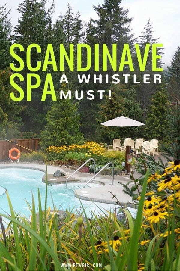 Scandinav Spa In Whistler, Canada