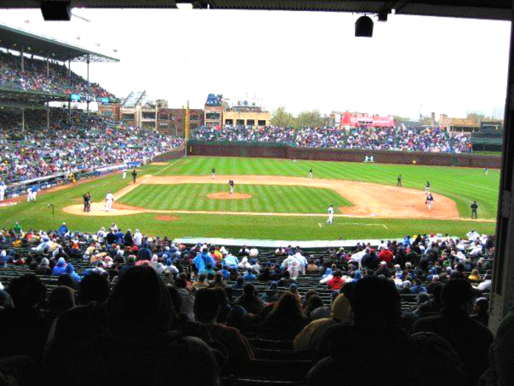 Wrigley Field Cubs - Chicago | www.rtwgirl.com