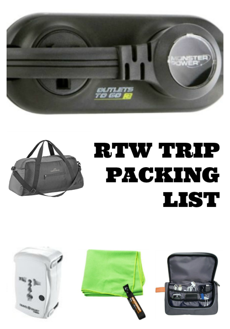 Round The World Trip Packing List | www.rtwgirl.com