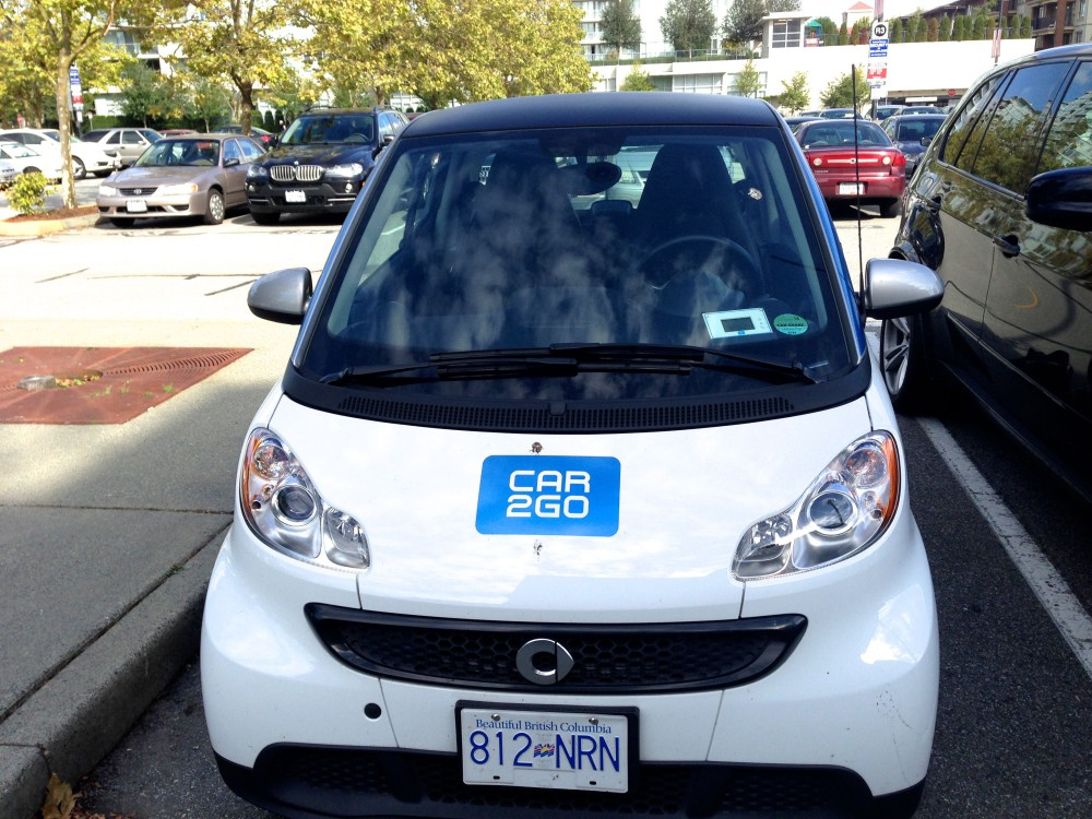 Car2go Using This Car Sharing Service When You Travel