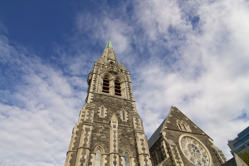 Christchurch Cathedral - New Zealand's South Island | www.rtwgirl.com