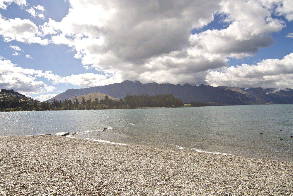 South Island Of New Zealand - Lake Wakatipu in Queenstown