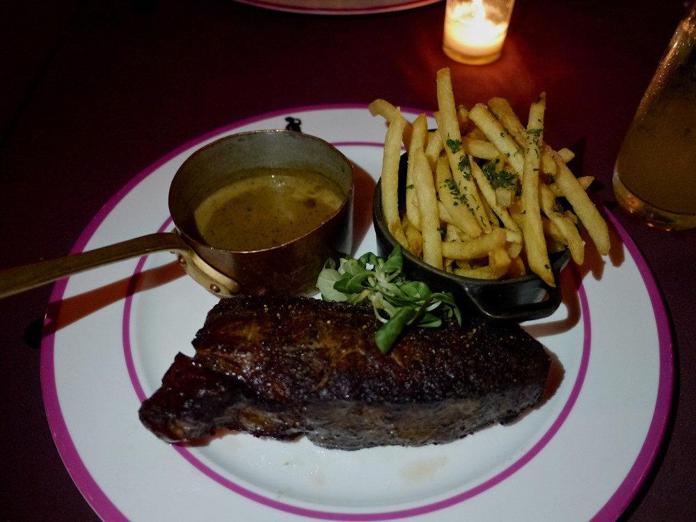 Steak at Mister Parkers