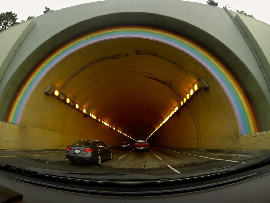 Rainbow Tunnel - Waldo Grade