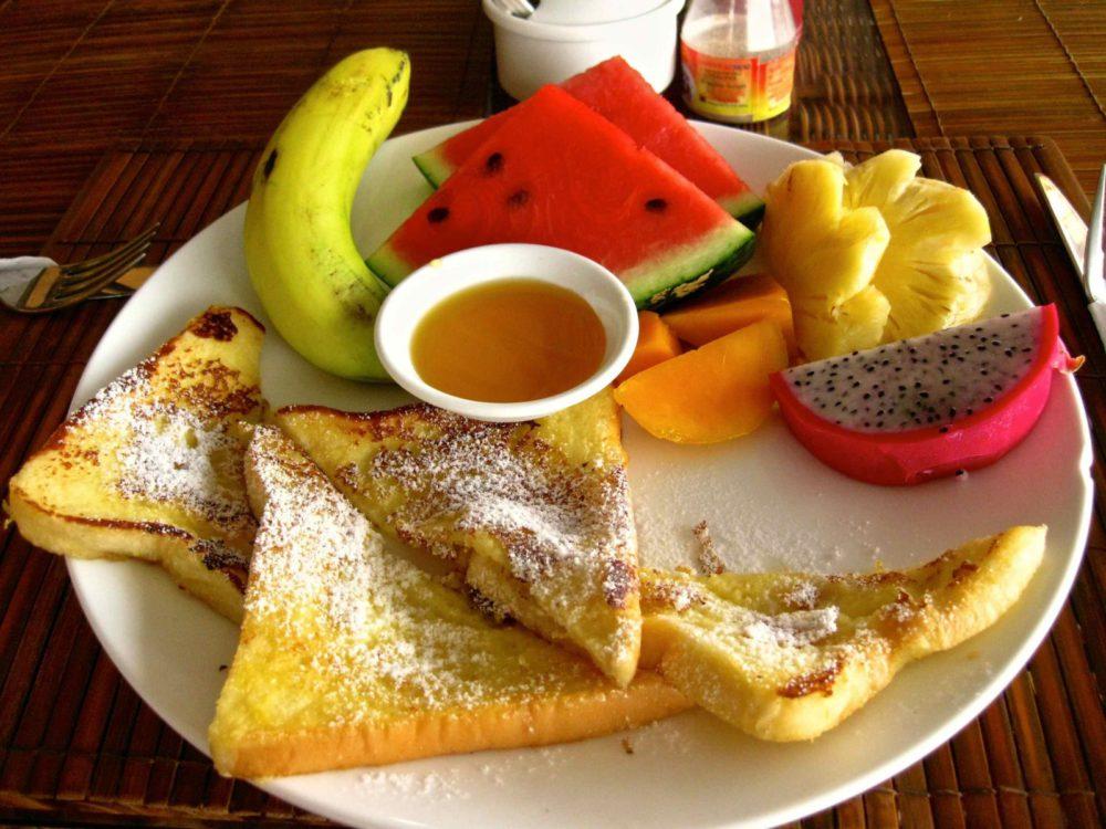 Ha Van Hotel Tropical Breakfast