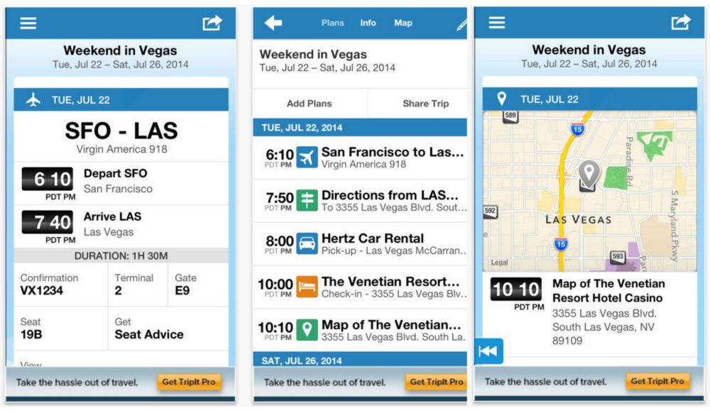 Tripit - Best Travel Apps