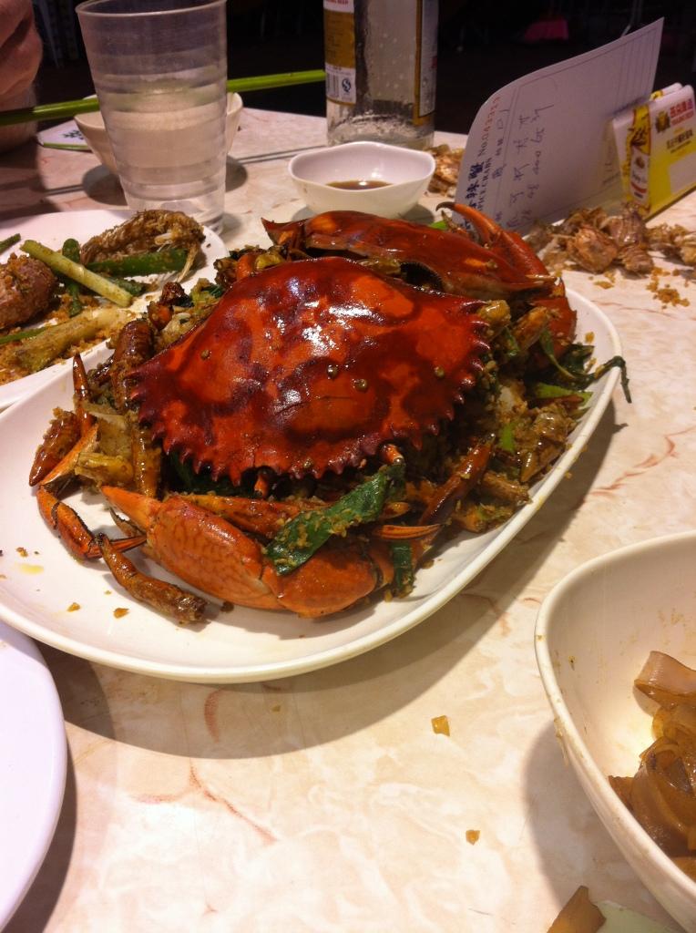 Temple Street Night Spicy Crab