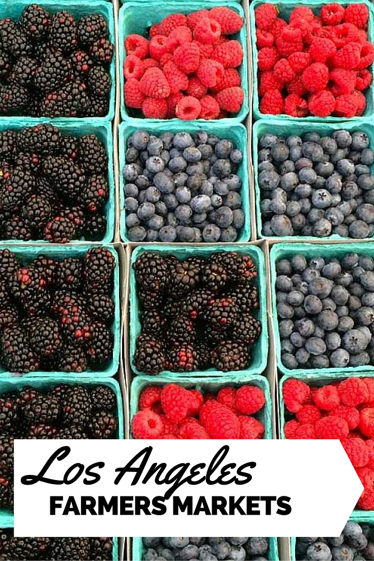 Los Angeles Farmers Market | www.rtwgirl.com