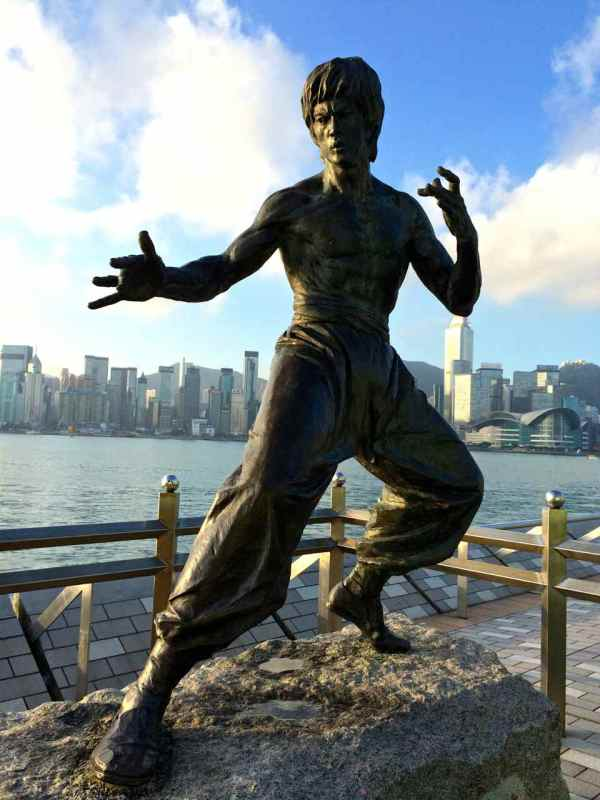 Bruce Lee - Hong Kong Photos