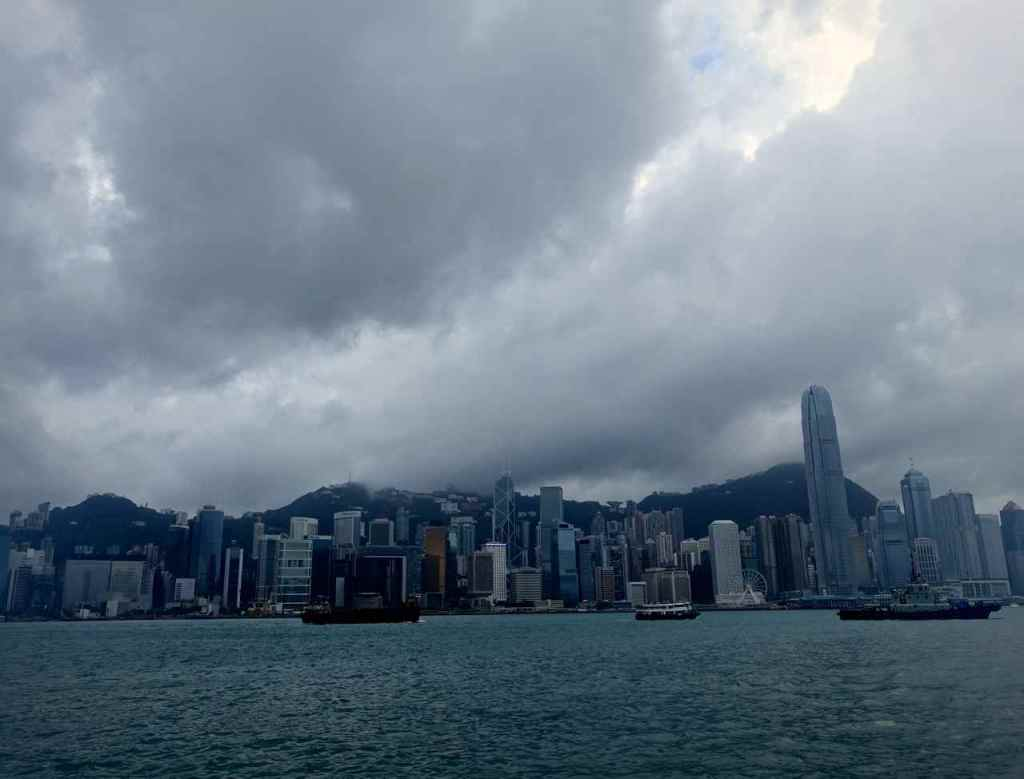 Victoria Harbour Cloudy Morning - Hong Kong Views Not To Miss