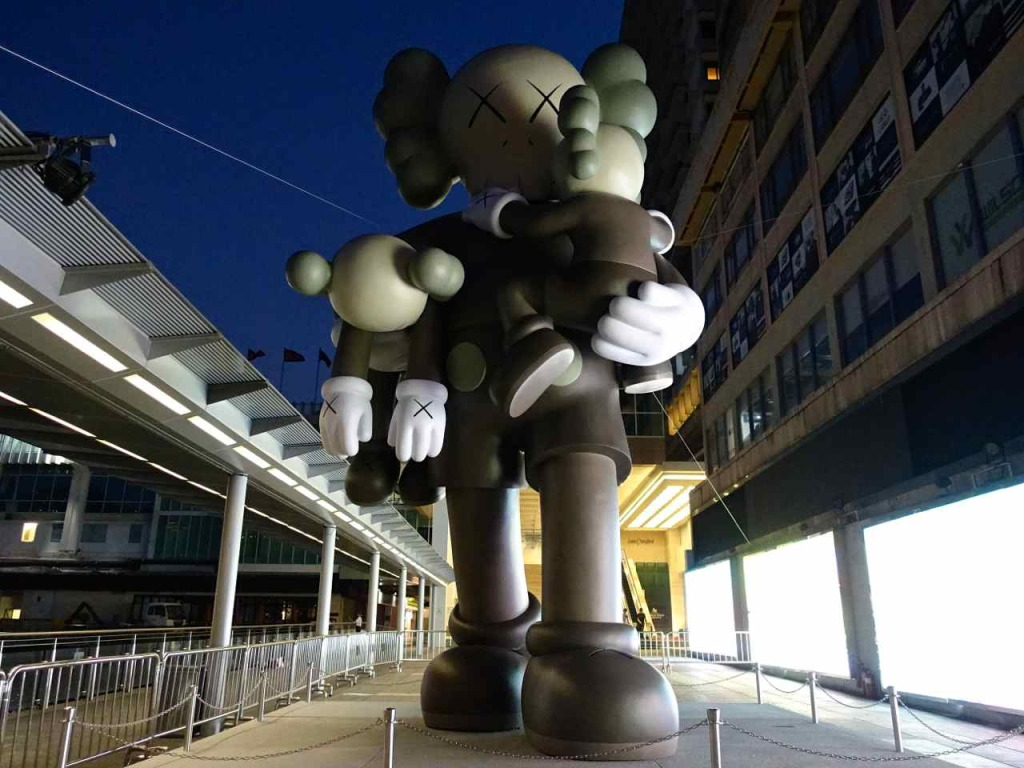 Kaws Clean Slate sculpture