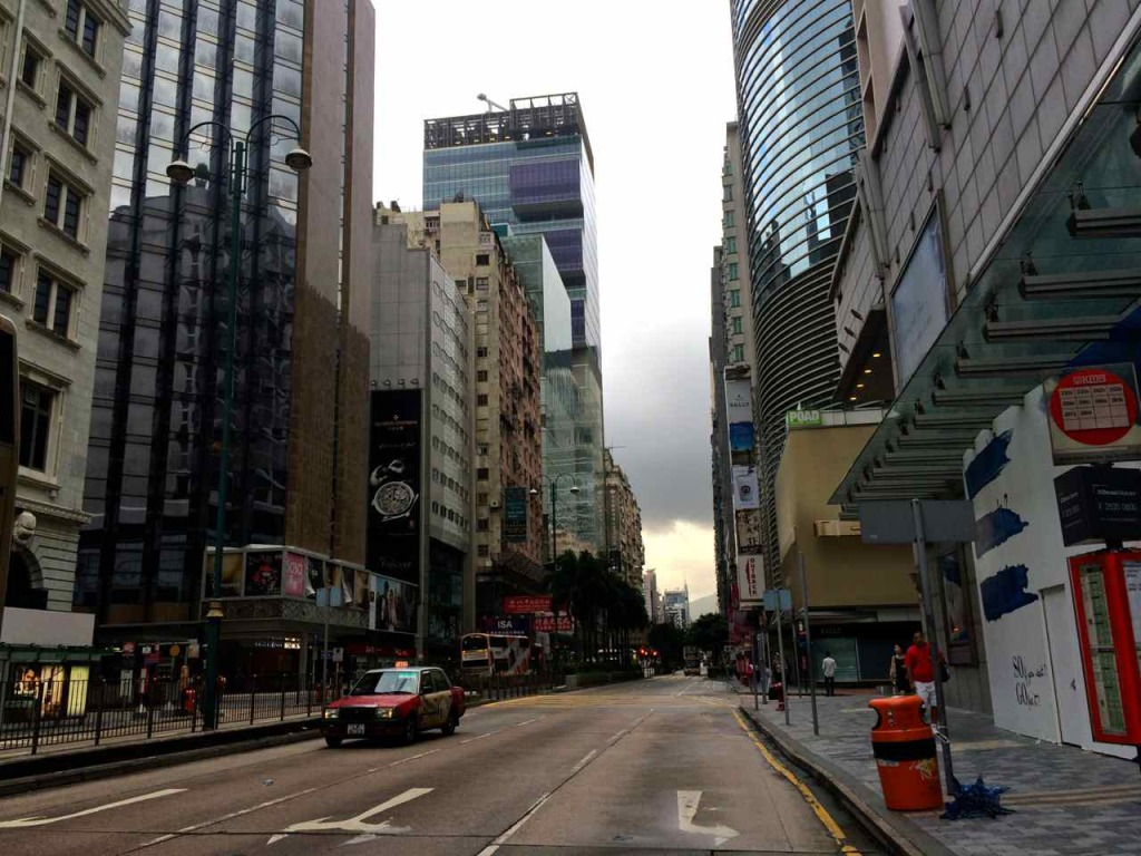 Nathan Road quiet