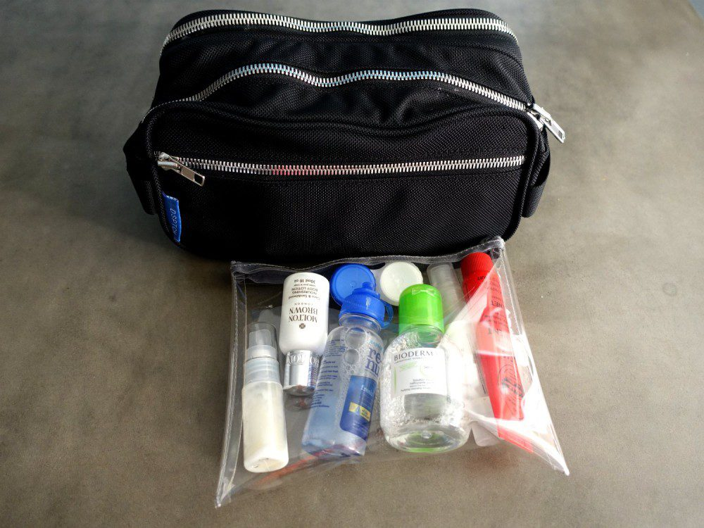 Packing List Toiletry Bag