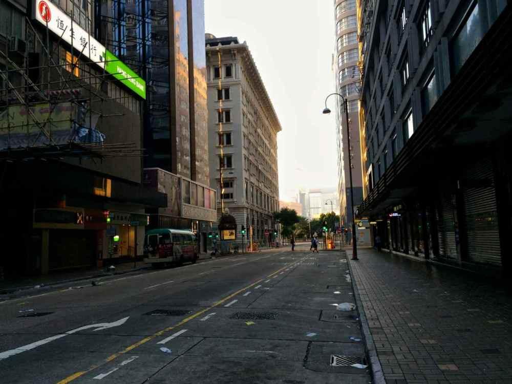Quiet road in TST