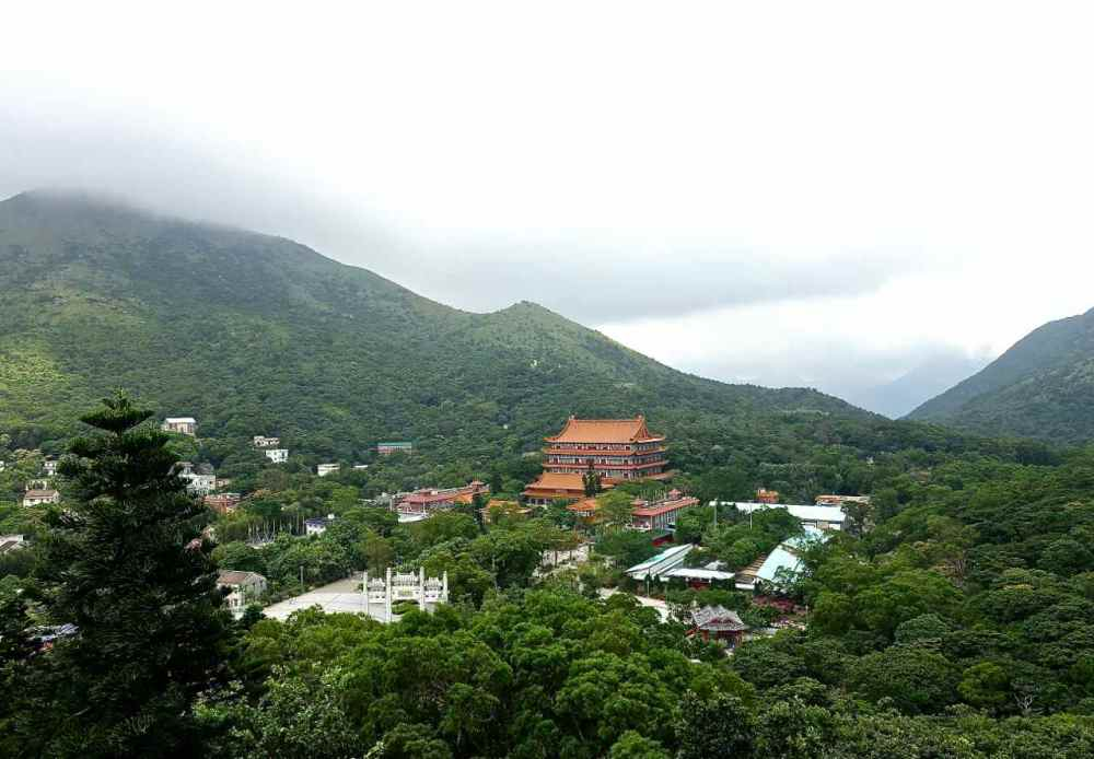 View from Tian Tan Buddha | rtwgirl