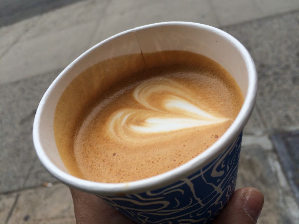 Happy Bones NYC Flat White