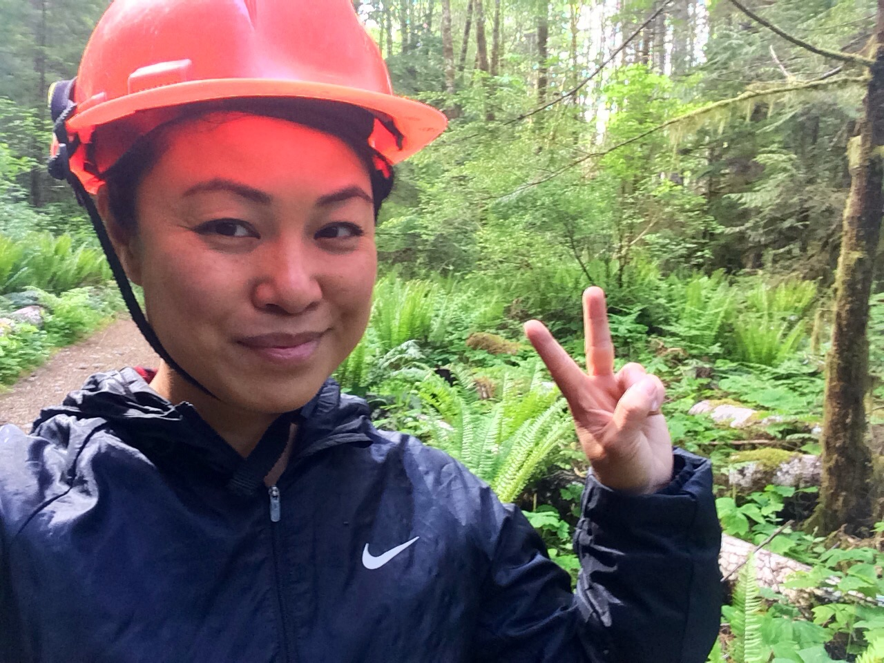 Caving at Horne Lake Caves On Vancouver Island