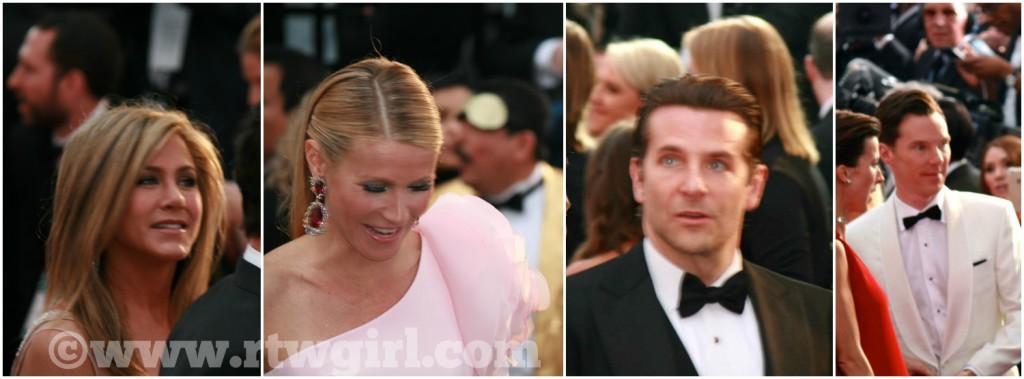 Oscars Red Carpet 2015 Celebrity Collage