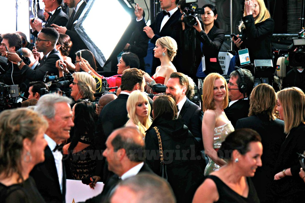 Clint Eastwood Nicole Kidman Anna Ferris Red Carpet 2015
