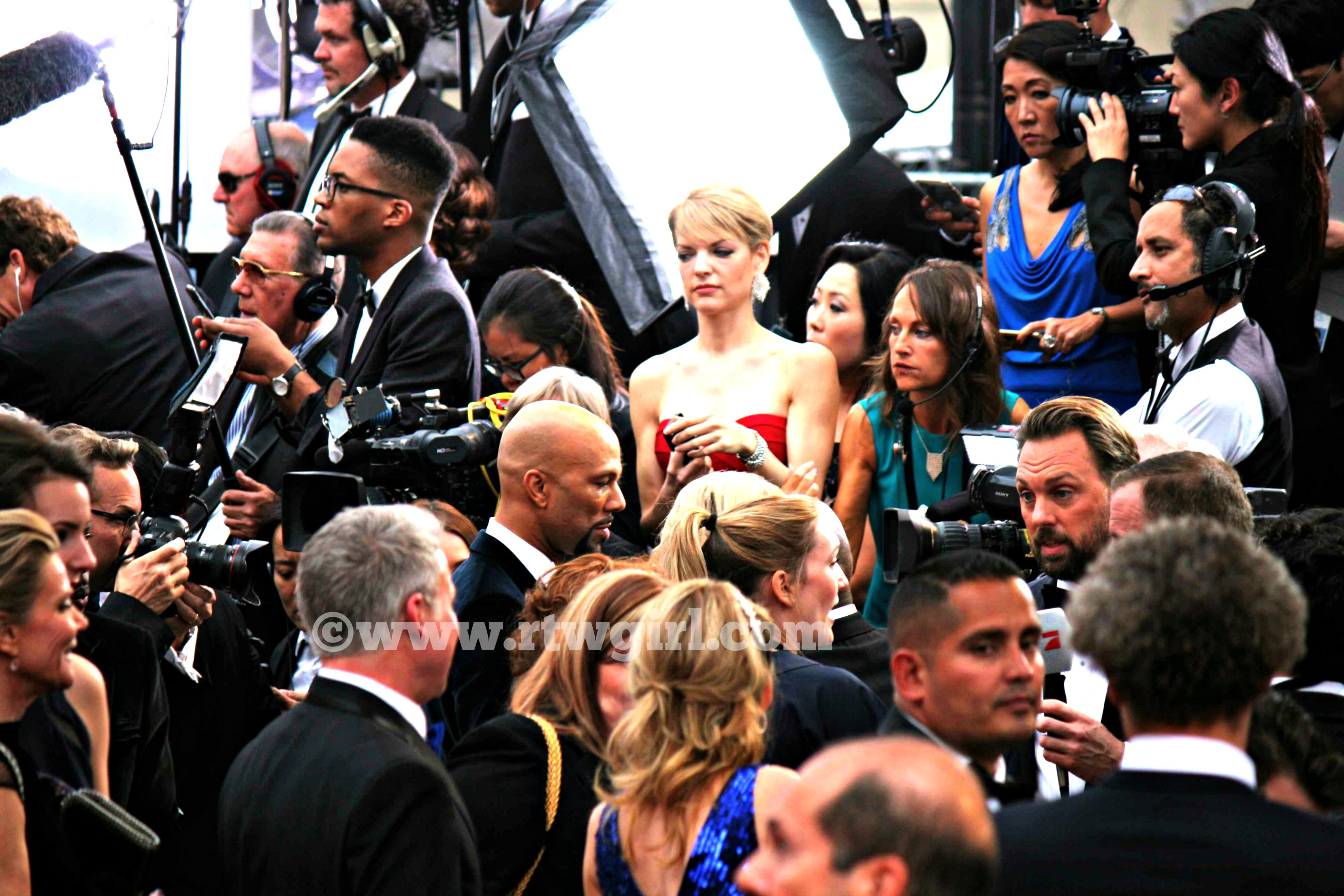 Common Oscars Red Carpet 2015