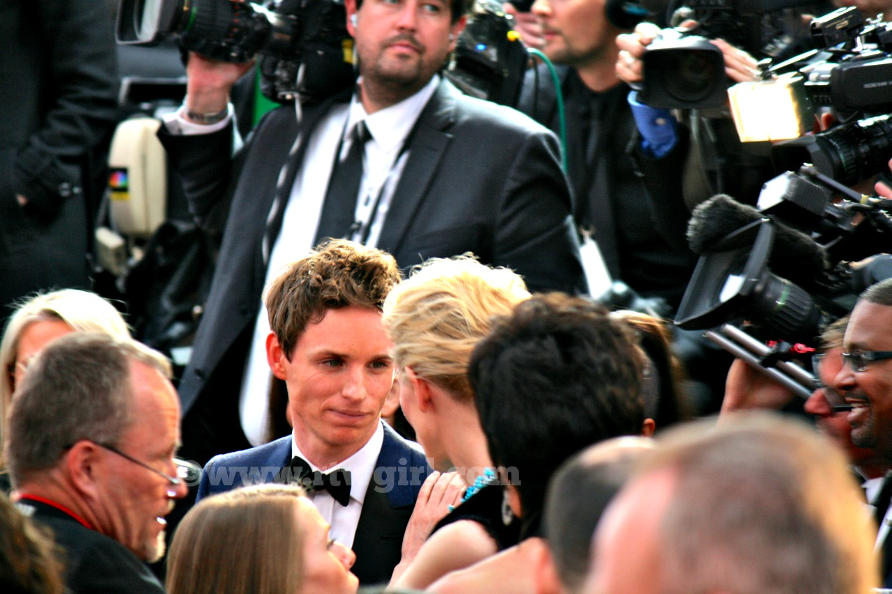 Eddie Redmayne Red Carpet 2015