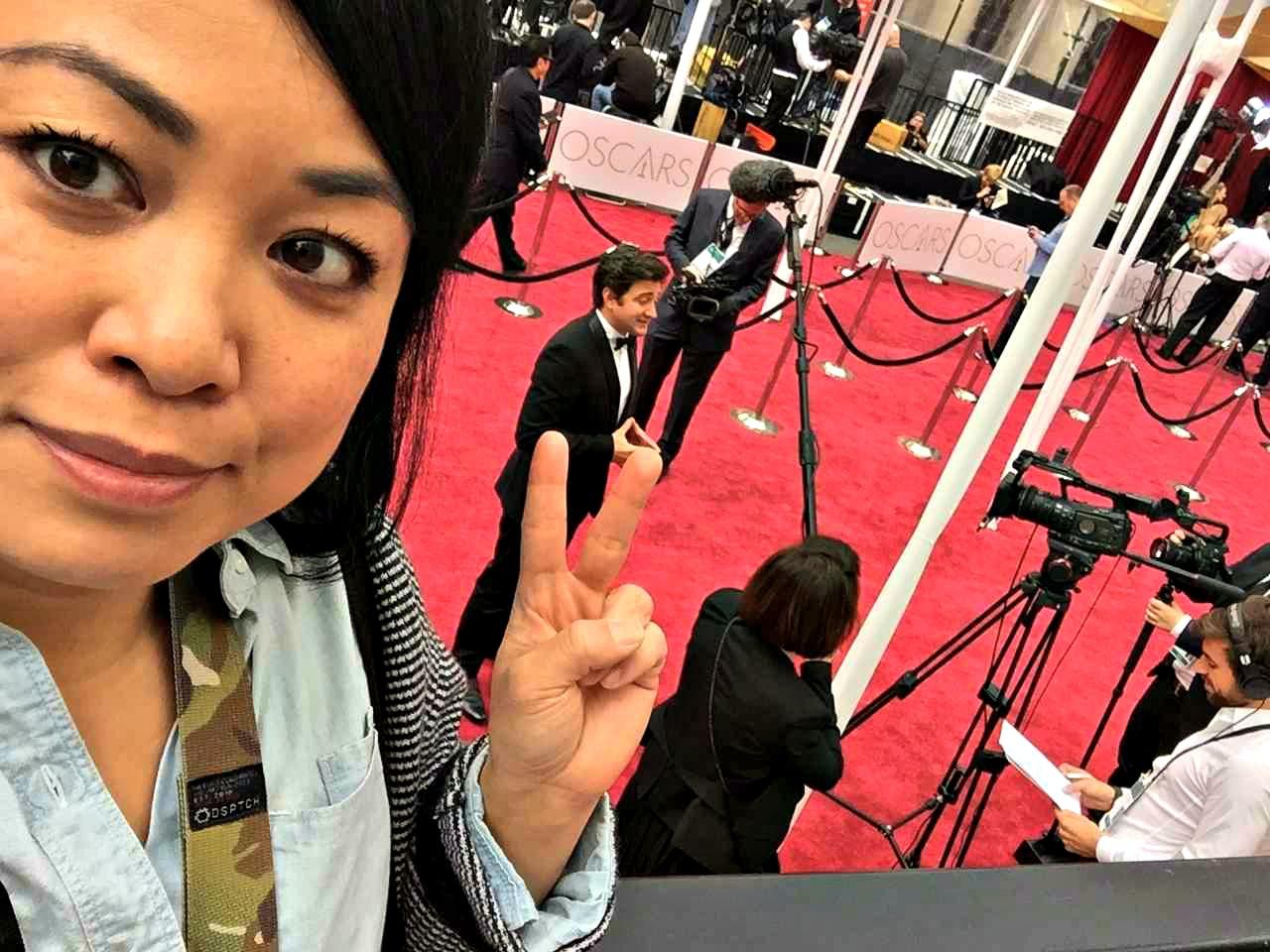 Arnette RTWgirl Oscars Selfie