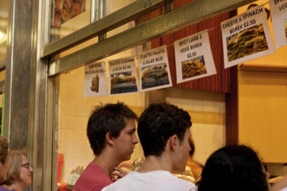 Borek Stall at Queen Victoria Market in Melbourne