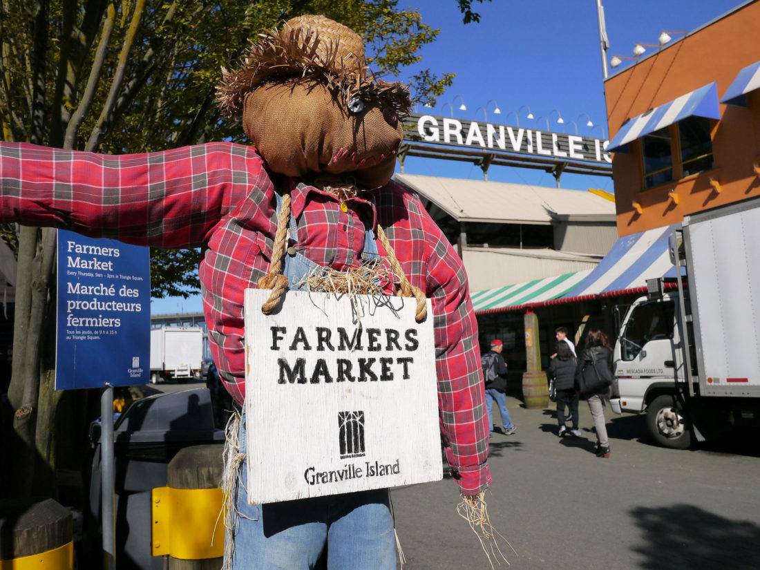 Granville Island Farmers Market | www.rtwgirl.com