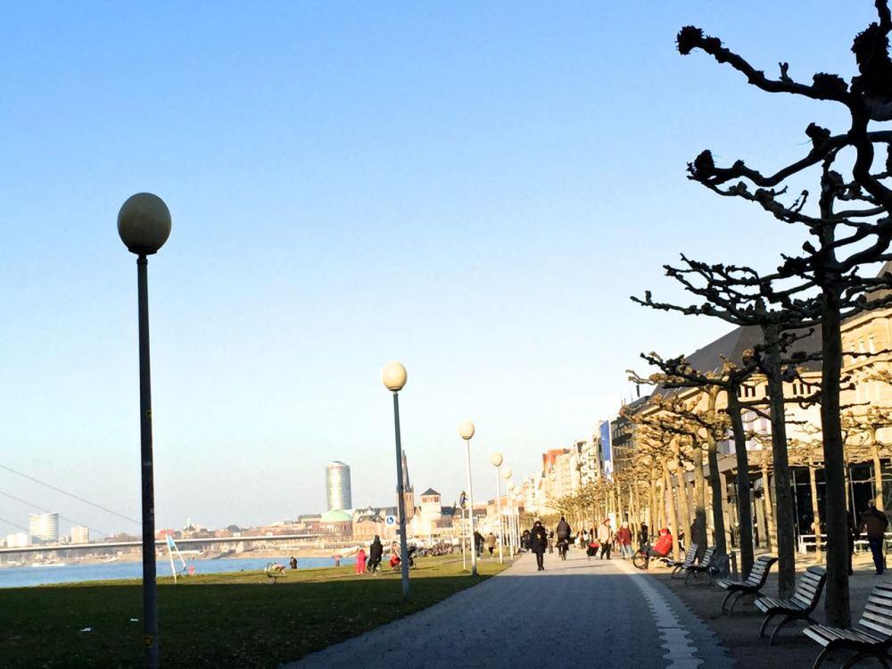 Rheinuferpromenade or Rhine Promenade