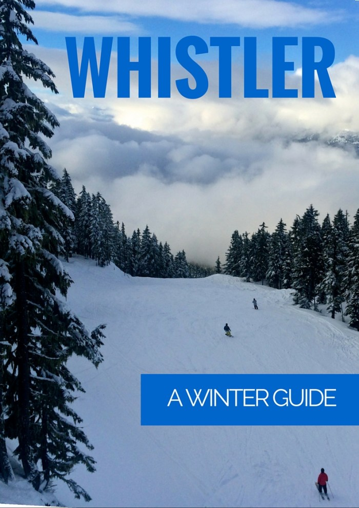 Whistler Winter Guide   www.rtwgirl.com