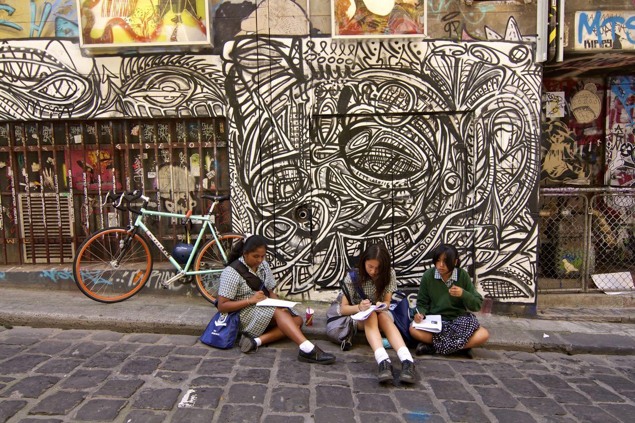 Exploring Melbourne Street Art