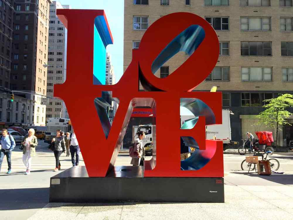 NYC Love Sign - A New York Minute
