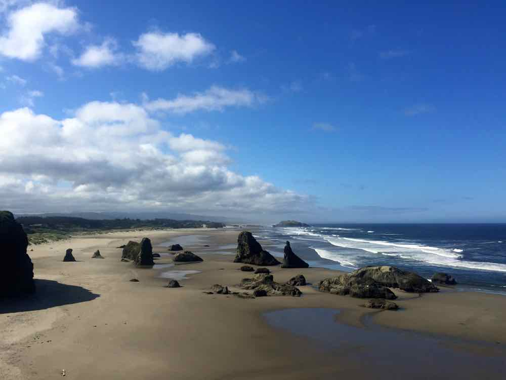 Face Rock State Scenic View Point in Bandon