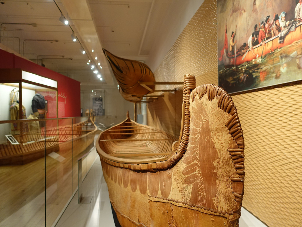 A First Nations Canoe ROM Royal Ontario Museum
