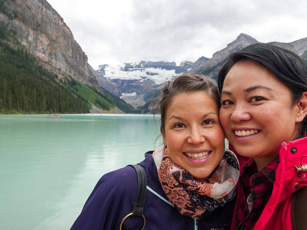 Lake Louise Kori and Me