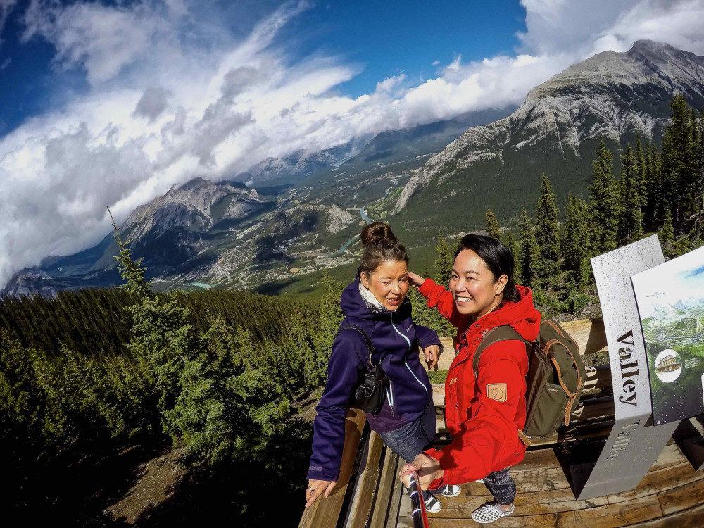 Me and Kori Banff Gondola