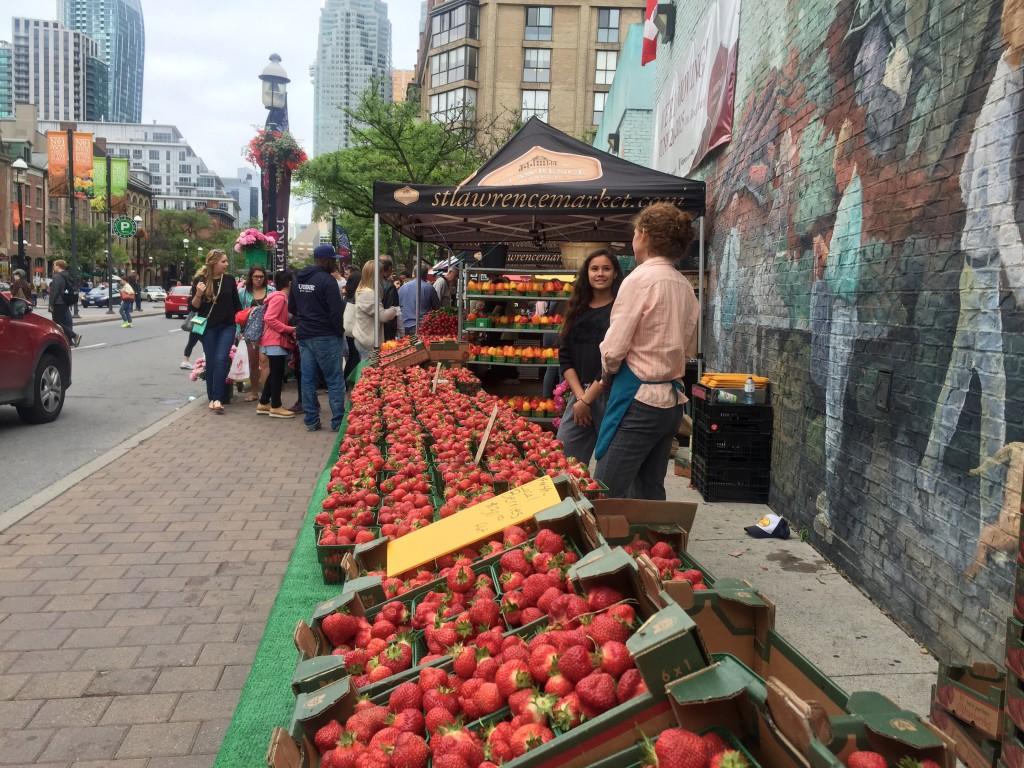 St Lawrence Market Farmers Market