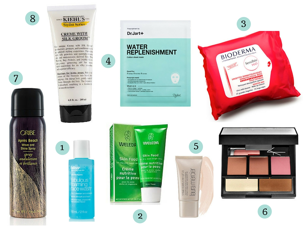 Travel Beauty Favorites | #travel #beauty