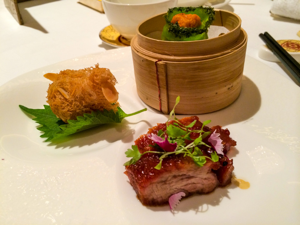 Shang Palace Michelin Lunch