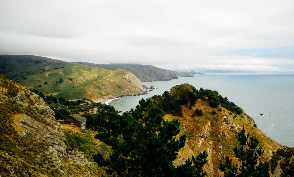 Muir Beach Overlook in Marin County