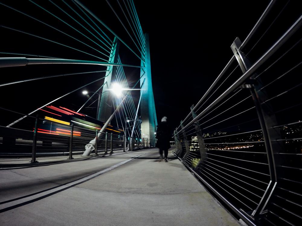 Tilikum Bridge GoPro Selfie
