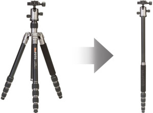 mefoto tripod monopod - solo traveler photo tips