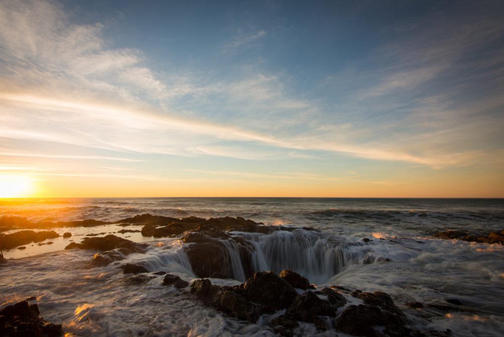 Thors Well Oregon Coast