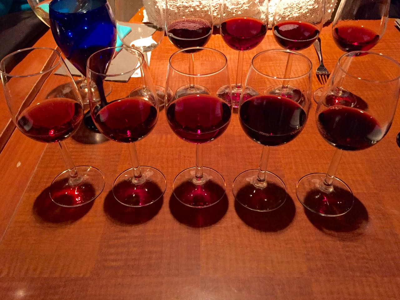 BC Winemakers' dinner at Mantles