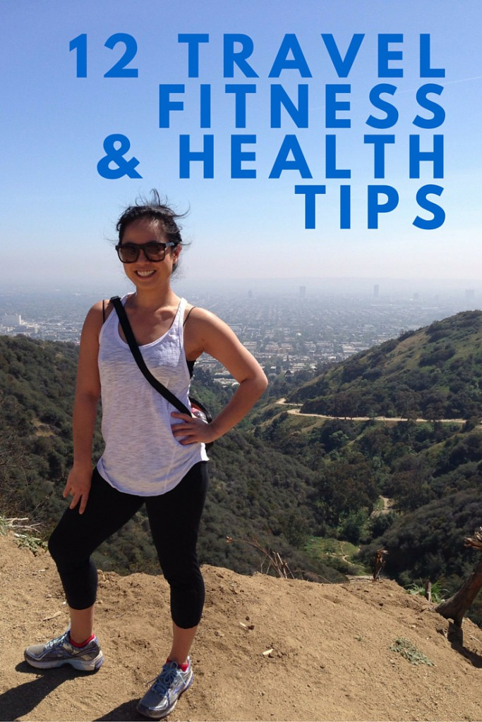 12 travel fitness and health tips | www.rtwgirl.com