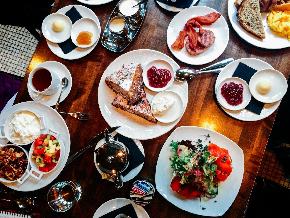 Breakfast at La Pentola At Opus Hotel